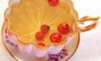 Чай з шипшиною для схуднення (2 способи, відгуки)