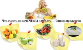 Щоб з`їсти щоб схуднути