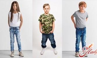 Дитячі джинси - модна, зручна, практична і безпечна одяг