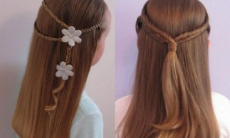 Дитячі зачіски для дівчаток - (61 фото)