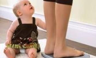 Дієта після пологів, як схуднути після пологів
