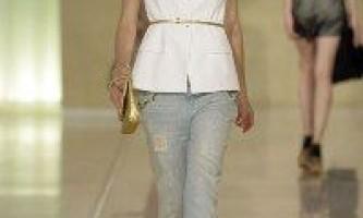 Джинси-2010: з чим їх носити