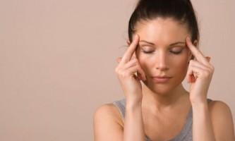 Головний біль давить на очі