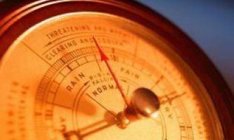 Як атмосферний тиск впливає на людину?