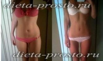 Як схуднути за місяць на 10 кг, відгуки схудлих