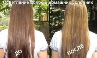Кефірна маска для освітлення волосся