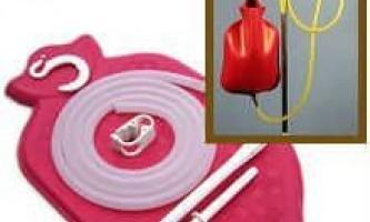 Клізми для очищення кишечника - лікування запорів