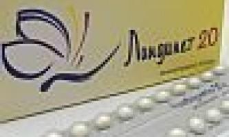 Ліндинет 20 - протизаплідні таблетки