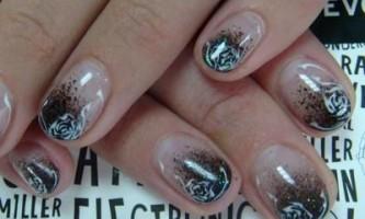 Нарощування на короткі нігті