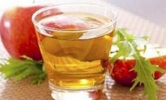 Очищення організму натуральним яблучним оцтом