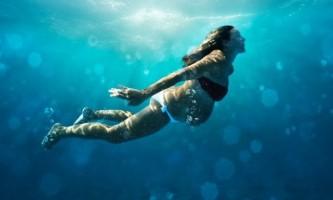 Плавання під час вагітності
