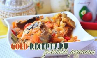 Риба під маринадом, рецепт смачної тушкованої риби з овочами