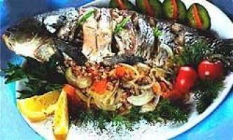 Риба, запечена з овочами - сторінка 2