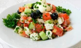Салат з оливками - нові і перевірені рецепти салату з оливками