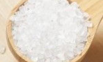 Сіль для схуднення (6 рецептів, відгуки)