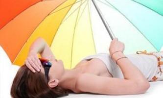 Сонячний опік і тепловий удар. Симптоми і перша допомога