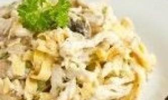 Салати з яйцями »94 рецепта