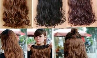 Волосся на шпильках - альтернатива нарощування