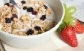 Злакова дієта (2 варіанти меню на тиждень)